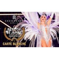 """Ticket für die """"Carte Blanche Travestie Show"""" ab April 2021 auf der Showbühne Berlin"""