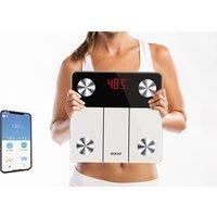 SOGO Badezimmerwaage kompatibel mit Apple- und Android-Mobilgeräten