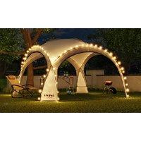 Gazebo Dome Shelter with LED Lighting