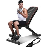 'Alivio Adjustable Weights Gym Bench With Free Delivery