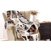 Up to Two Personalised Photo Blankets in Choice of Sizes