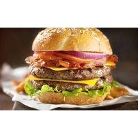 Hausgemachter Burger mit Pommes und Dip für 1 bis 4 Personen bei Mr. Burger (bis zu 59% sparen*)