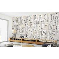 64Piece Creative Collage Designer Wallpaper