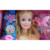Doll Styling Head Play Set with Accessories