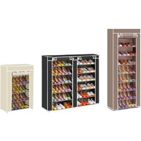 Canvas Shoe Storage Rack in Choice of Colours and Sizes from £11.99 (Up to 60% Off)