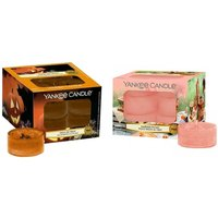 12er-Set Yankee Candle Teelichter Garden Picnic oder Trick or Treat