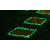'100 Garden Walkway Glow In The Dark Pebbles Stones