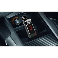 Freisprecheinrichtung fürs Auto mit Bluetooth, MP3-Player und FM-Transmitter