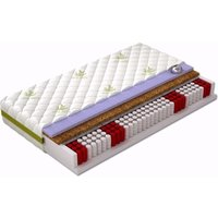 Taschenfederkern-Matratze Pedro mit Kokos-Matte in der Größe nach Wahl