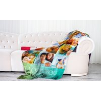 Up to Two Personalised Photo Blankets in Choice of Sizes (Up to 81% Off)