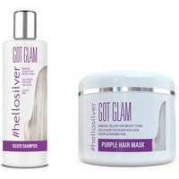 Got Glam #hellosilver Shampoo 250 ml oder/und Haarmaske, 215 ml