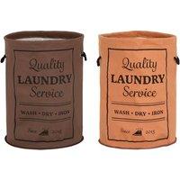 Großer Wäschesack in Orange oder Braun