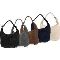 Carina or Cora Oversized Suede Hobo Bag