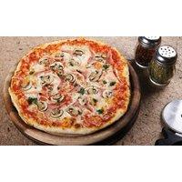 Bis zu 4 ofenfrische Pizzen zum Mitnehmen von Tonys Pizza (bis zu 29% sparen*)