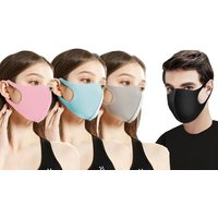 Four or Eight Washable Face Masks