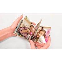 Bis zu 10 Foto-Taschenbücher mit Flachbindung mit 20 Seiten von Printerpix