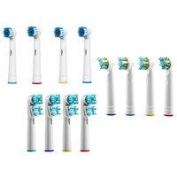 4er-, 8er-, 12er-, 16er-Pack Ersatz-Zahnbürstenköpfe kompatibel mit elektrischen Oral B Zahnbürsten