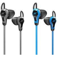 SMS Sport In-Ear-Kopfhörer mit Herzmonitor in Schwarz-Grau oder Blau