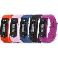 Aquarius AQ 111 Activity-Tracker mit Gummi-Armband in der Farbe nach Wahl für Kinder