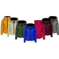 Women's Quilted Padded Zip Jacket