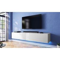 Selsey Living TV-Unterschrank Lana in der Farbe und in der Größe nach Wahl mit LED-Beleuchtung in Blau