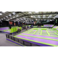 One or TwoHour Indoor Trampoline Park Access for One, Two or Four at