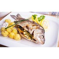 Fischplatte mit Beilagen und Wein für 2 oder 4 Personen bei Palet München (bis zu 48% sparen*)