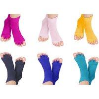 1x, 2x oder 3x Paar Fußausrichtungssocken in der Farbe nach Wahl zur Linderung von Fußschmerzen