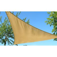 One or Two Triangle Sail Sun Shade Canopies