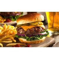 Burger-Menü mit Softdrink für 1 bis 4 Personen bei Wilma Restaurant Sportbar Cafe (bis zu 39% sparen*)