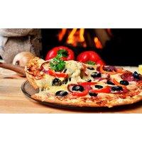 mittlere Pizza oder Pasta, mit Salat und Softgetränk, für 2 oder 4 Personen, bei Pizzeria Casa Mia