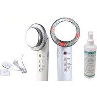 3-in-1 Beauty-Gerät mit Ultraschall, EMS und Infrarot, optional mit 1x, 2x oder 3x Gel