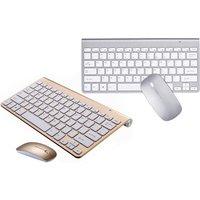 Aquarius Wireless Keyboard Kit with Optical Mouse