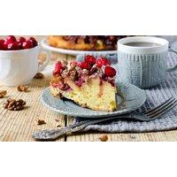 Kuchen und Heißgetränkfür 2 oder 4 Personen im Café Morgenstern