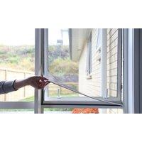 1x, 2x oder 4x Moskitonetz fürs Fenster 130 x 150 cm
