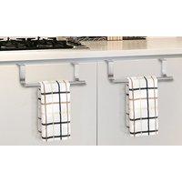 1x, 2x, 4x oder 6x Küchenhandtuch-Halter für Küchenschrank-Türen