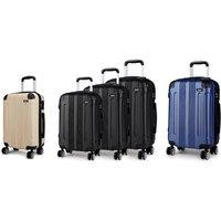 Kono K1777 Small, Medium, Large or Set of Three Luggage Suitcases