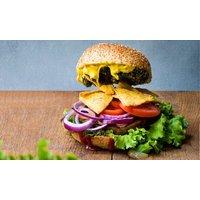 Veganes Burger-Menü mit Getränk für bis zu 4 Personen in der Neuen Republik Reger (bis zu 28% sparen*)