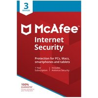 McAfee Internet Security 2019 OneYear License for Three or Ten Devices