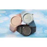 1x oder 2x Excellanc Damenuhr mit Magnetverschluss oder Mesh-Band in einer Farbe nach Wahl
