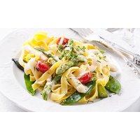 Italienisches 3-Gänge-Menü mit Pizza oder Pasta für 2 oder 4 Personen im Restaurant Casa Fiorello
