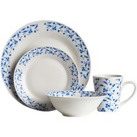 One or Two Premier Housewares 16-Piece Blue Rose Dinner Sets