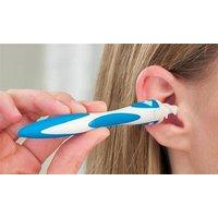 1x, 2x oder 4x Ohrenreiniger mit spiralförmigem Kopf und 16 zusätzlichen Spiralaufsätzen