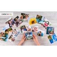 20 oder 50 Insta-Fotoabzüge im 10 x 10 cm oder 13 x 13 cm Quadratformat von Colorland