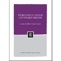 Storia delle lingue letterarie greche