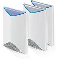 Netgear Orbi Pro AC3000 Sistema WiFi Mesh Tribanda Router + 2 Repetidores