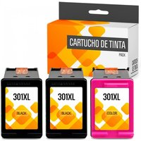 HP 301XL Pack 3 Cartuchos Tinta