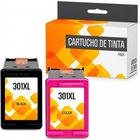 HP 301XL Pack 2 Cartuchos Tinta