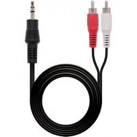 NanoCable Cable Audio Estéreo Jack 3