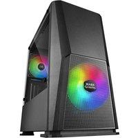 Mars Gaming MCONE RGB Cristal Templado USB 3.0 Negra